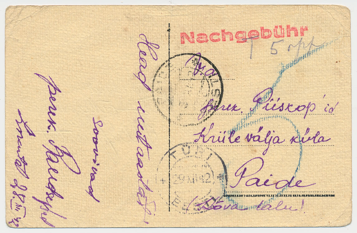 0027a-Türi-Paide-nachgebühr-12-1942