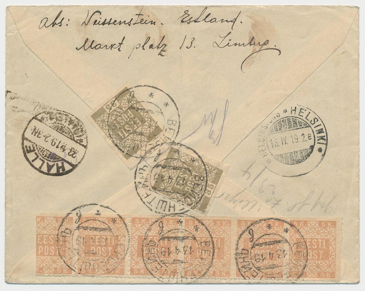 0177b-Lillemuster-Weissenstein-Halle-ajutine-tähistus-1919
