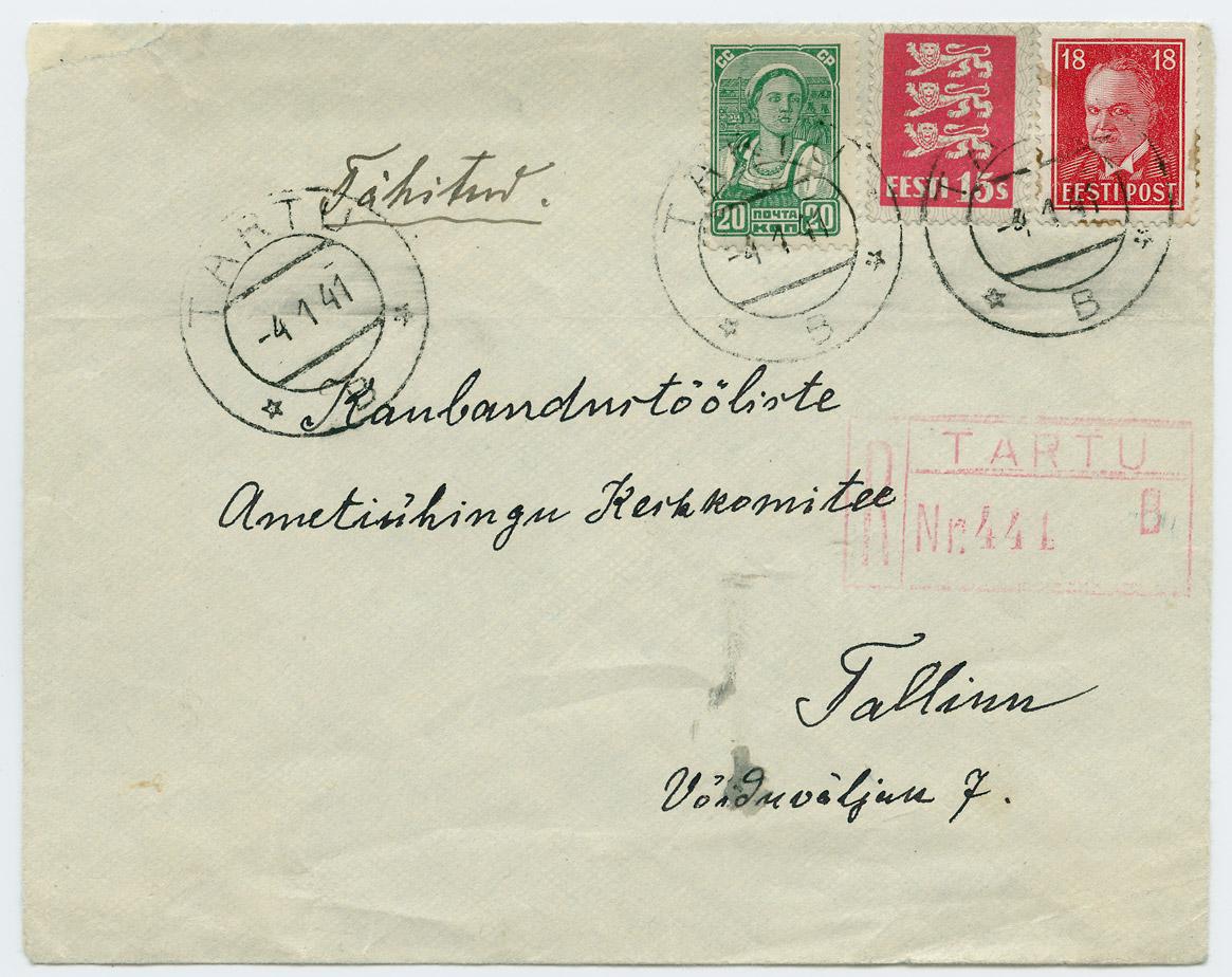 0582a-Tartu-Tallinn-segafrankeering-1941