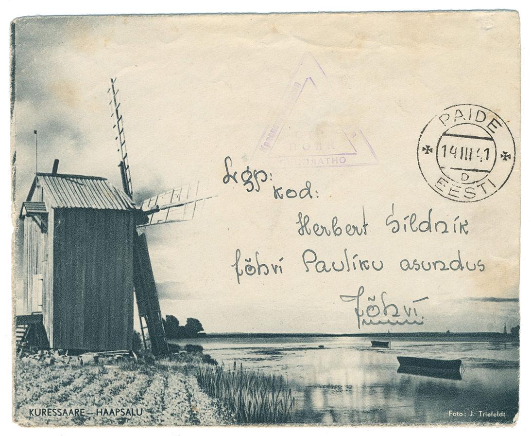 0592a-punaarmeelase-kiri-Paide-Jõhvi-1941