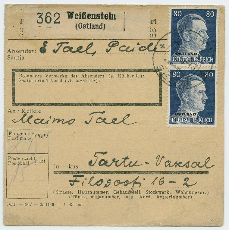 0600a-Pakikaart-Weissenstein-Tartu-Vaksal-1943