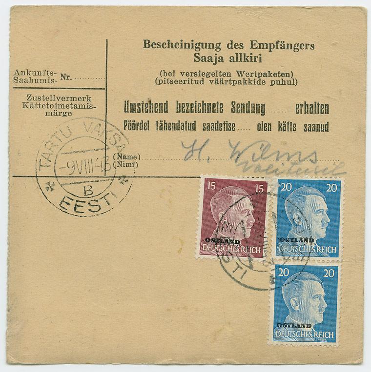 0600b-Pakikaart-Weissenstein-Tartu-Vaksal-1943