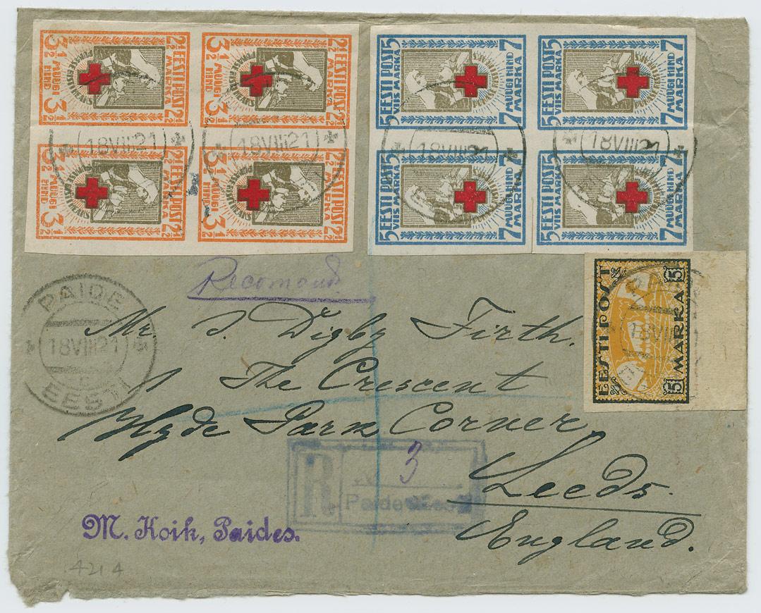 0613a-Punane-Rist-Paide-Leeds-1921-postiajalugu-ee