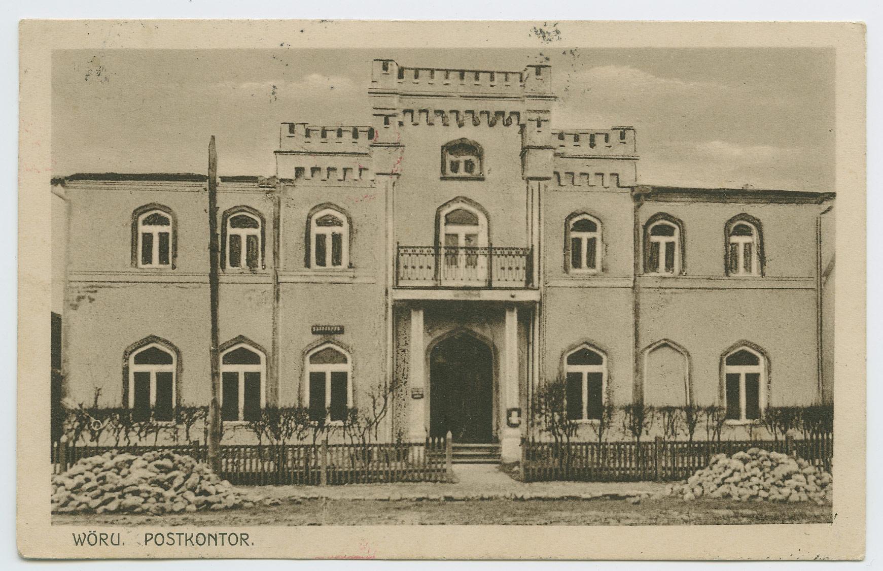 0652b-Võru-postkontor-Brüssel-1926
