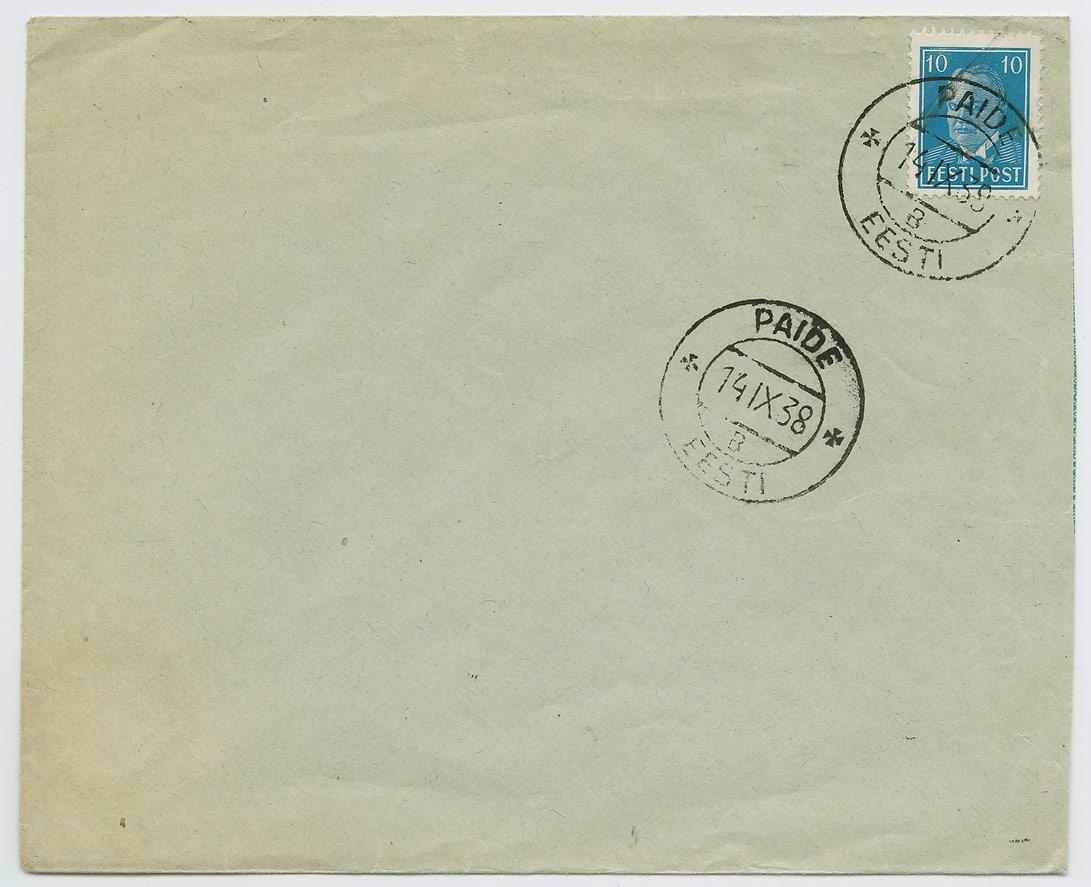 0692a-Paide-postkastist-ilma-aadressita-kiri-1938-postiajalugu-ee