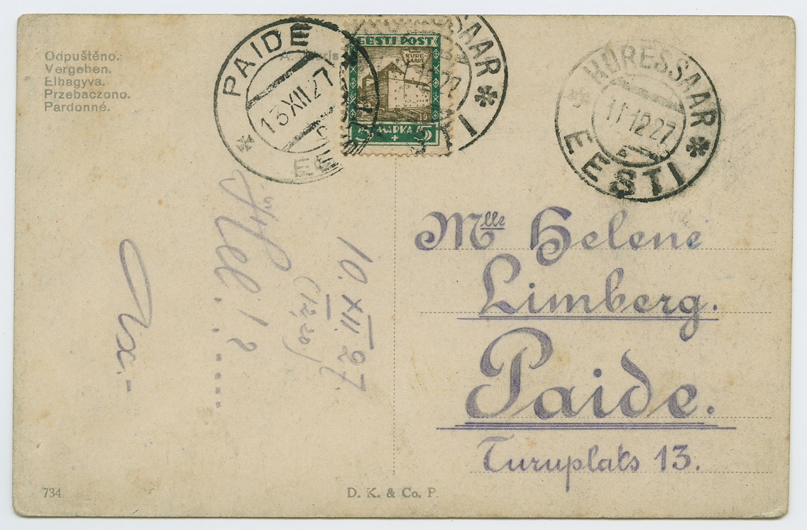 0760a-Linnavaated-Kuressaare-loss-Paide-1927-postiajalugu-ee