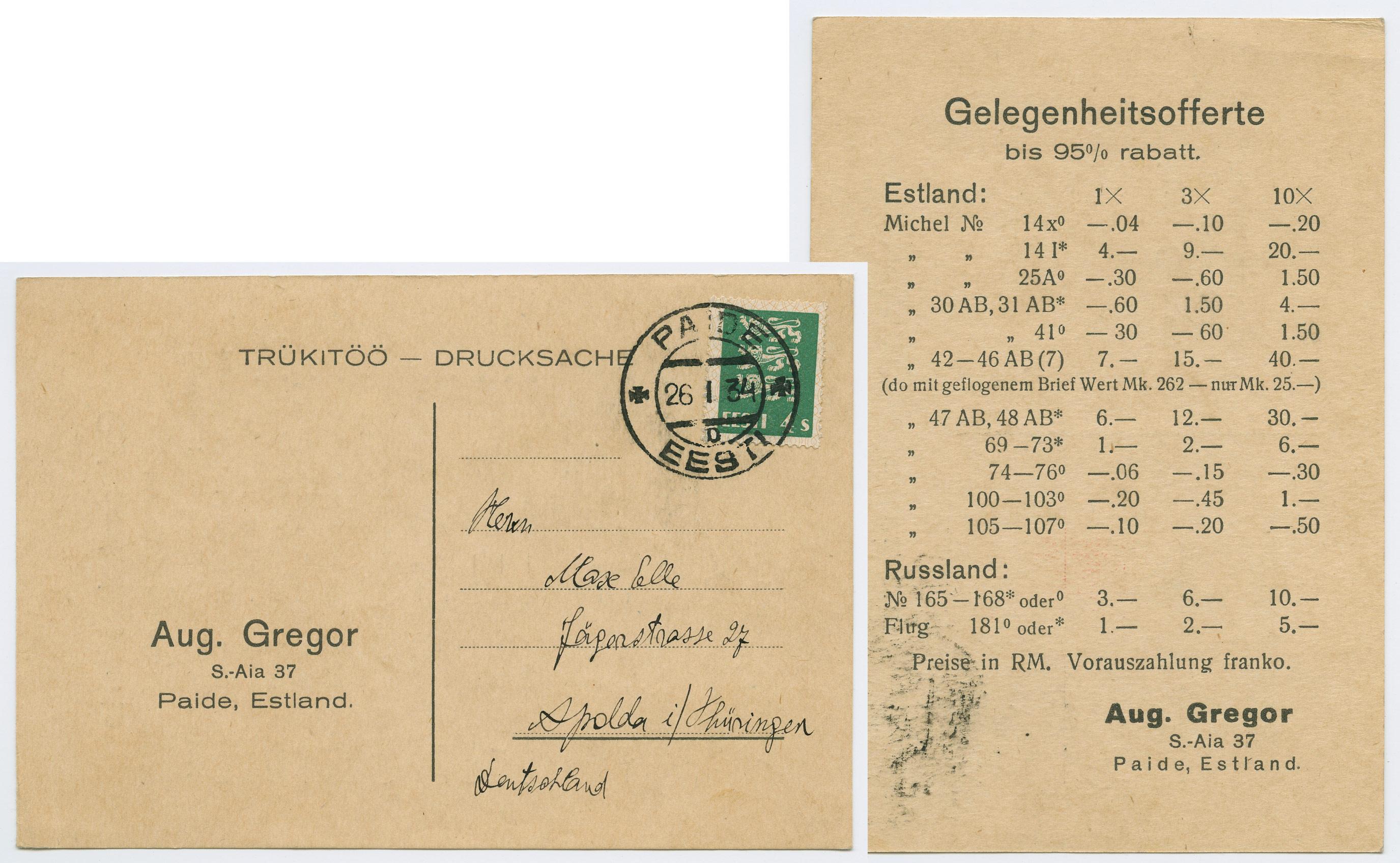 0794b-Võltspostmarkide-levitaja-August-Gregor-Elmelo-Paide-Apolda-1934-postiajalugu-ee