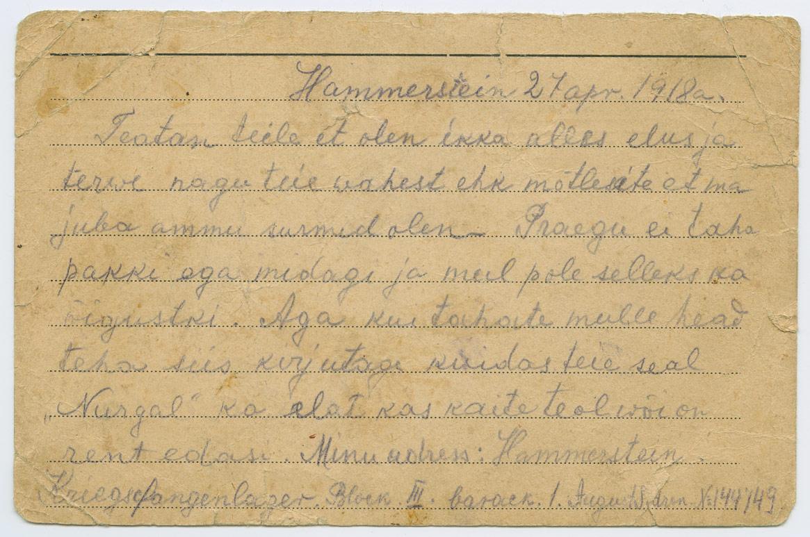 0826b-Hammerstein-Tuchel-Paide-Piiumetsa-Sidron-1918-postiajalugu-ee