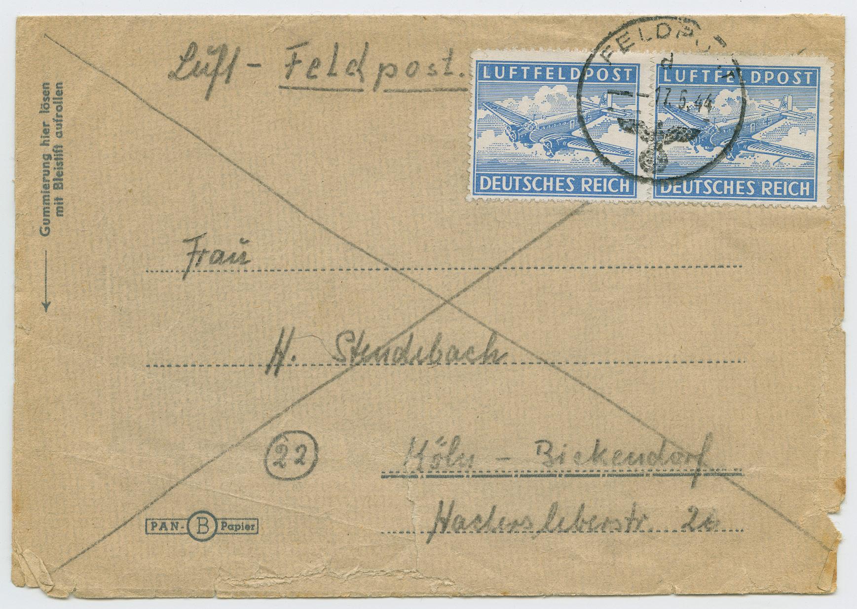 1115a-Luftfeldpost-38566C-Narva-font-Köln-Bickendorf-1944-postiajalugu-ee