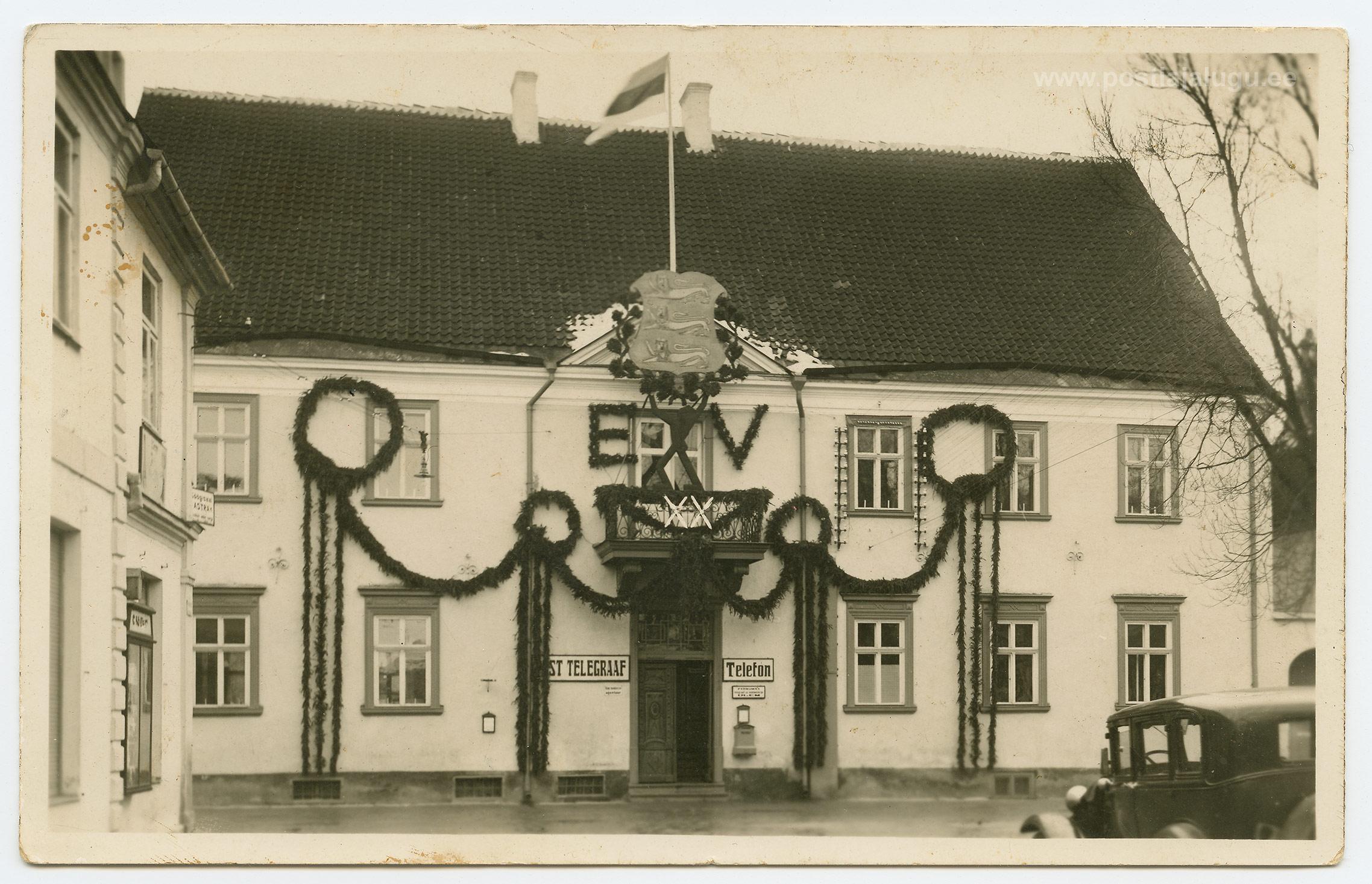 Pärnu-postkontor- 24-02-1938