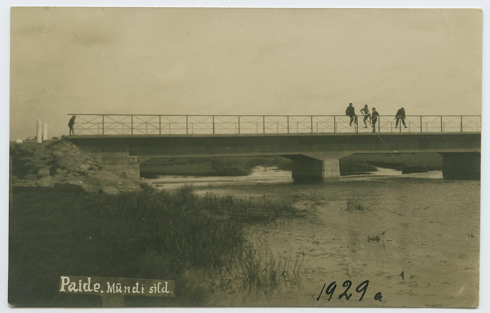 Paide-Mündi-Sild-1929