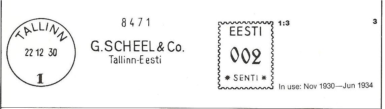 Litsents nr. 1, väljastatud 18. oktoobril 1929.a.