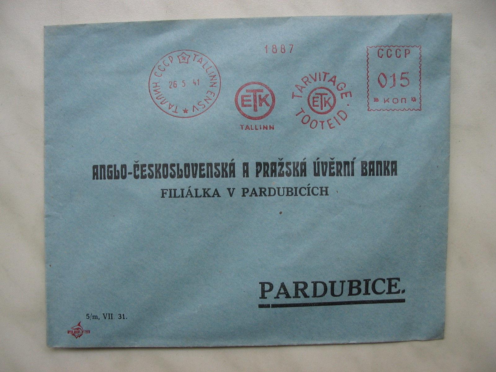 Võlts ETK 1941 franko, müüdud 2014 eBays $154